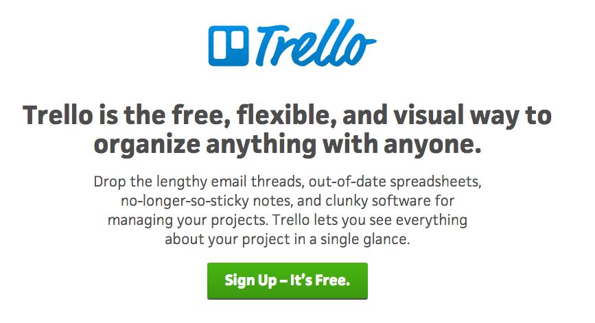 Trello for content collaboration