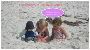 use images to tell stories