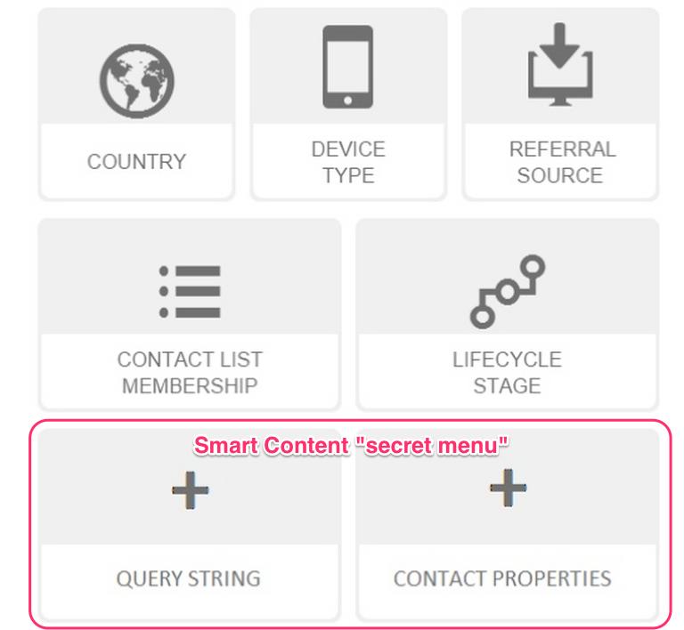 hubspot_smart_content_secret_menu