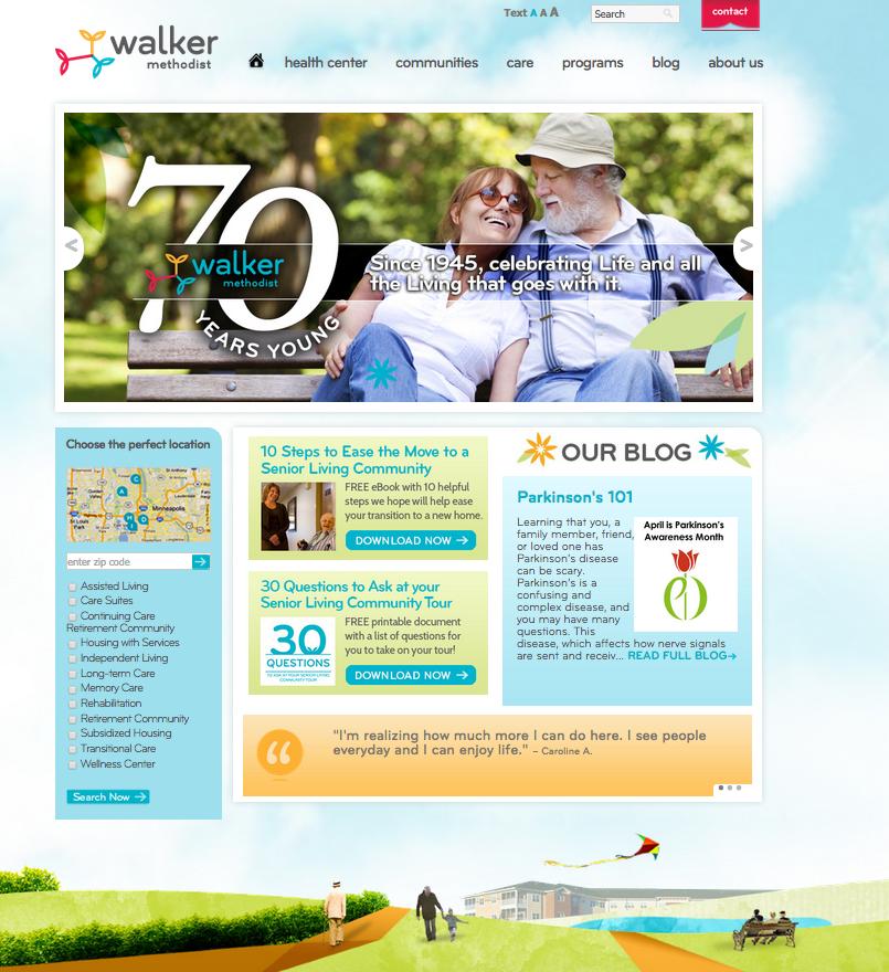 walker_methodist_website