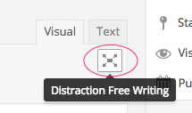 wordpress_distraction_free_writing